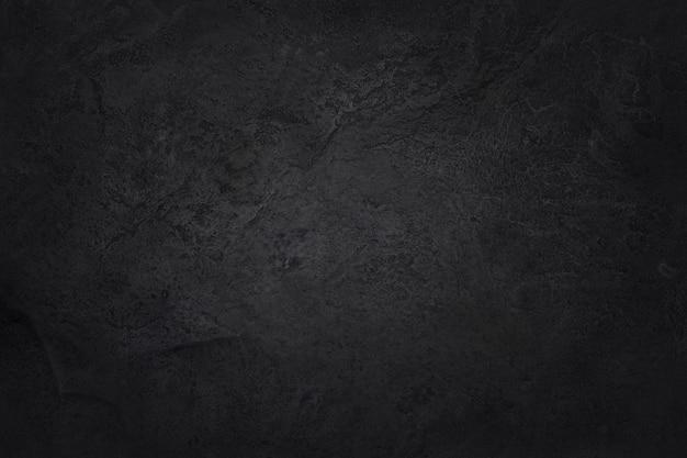 自然な黒い石壁の背景、高解像度の暗い灰色の黒いスレートテクスチャ。
