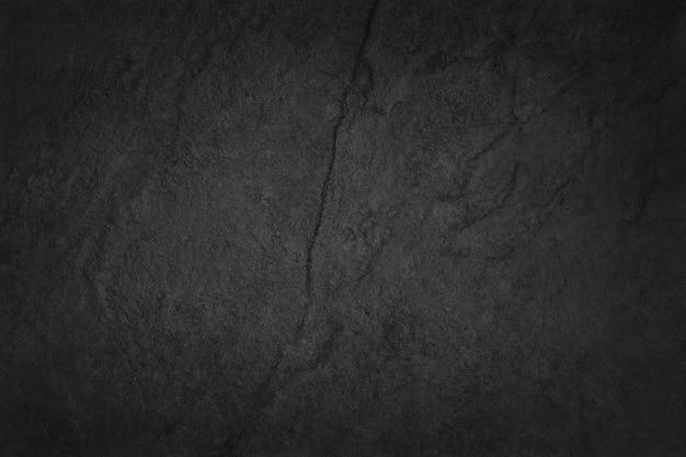 高解像度の天然石の壁を備えたダークグレーブラックのスレートテクスチャ。