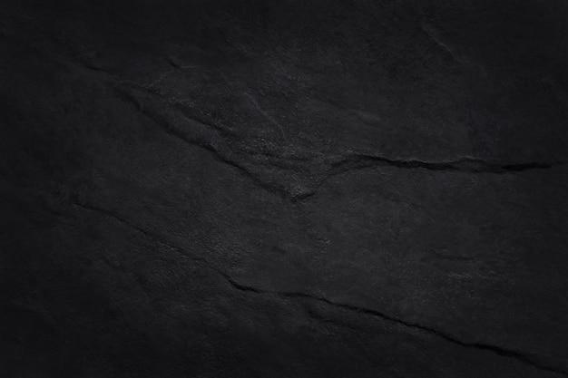 Темно-серая черная текстура сланца с высоким разрешением, стена из натурального камня.
