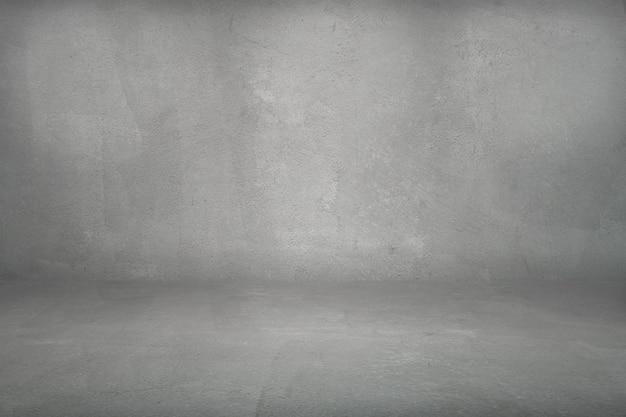 Dark grunge cement studio background