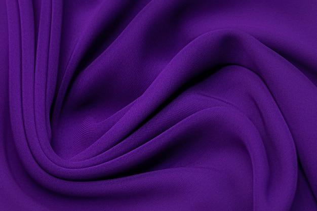 Dark lilac cadi silk