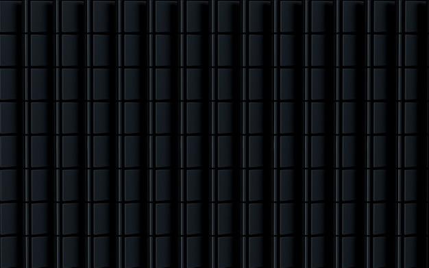 Темная роскошь квадратной формы абстрактный фон 3d рендеринг