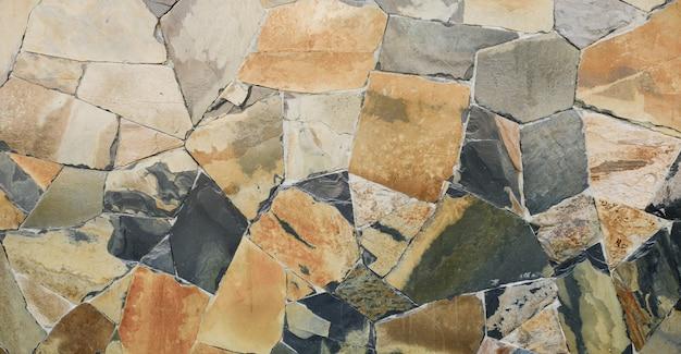 Темная современная кирпичная каменная стена