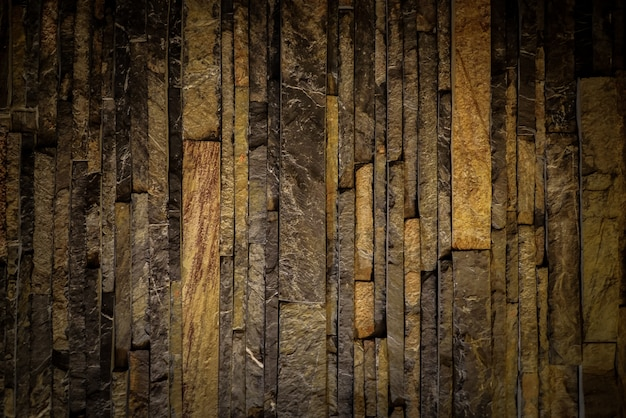 Dark old wooden background.