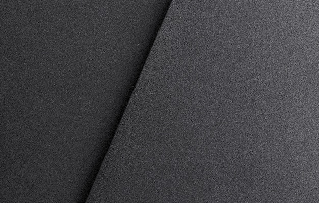 Темный или черный металлический фон или текстура