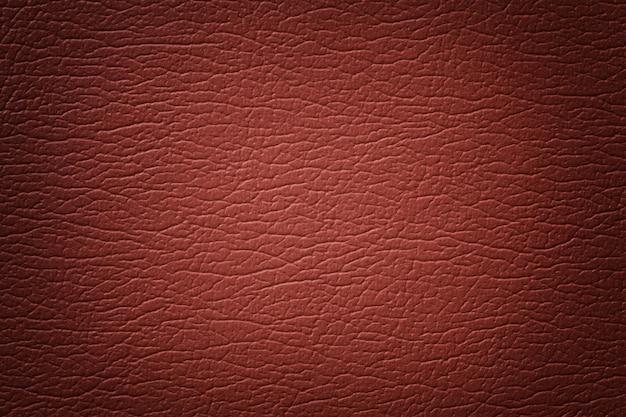 Dark orange leather texture background details