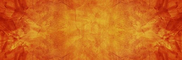 Темно-оранжевая текстура цемента