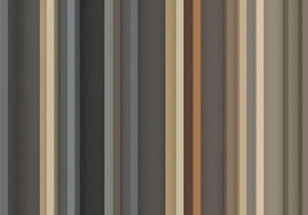 어두운 파스텔 톤 컬러 세로 나무 막대 패널 벽 배경입니다.