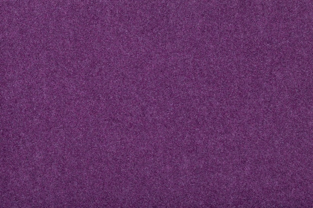 Dark purple matt suede fabric velvet texture of felt,