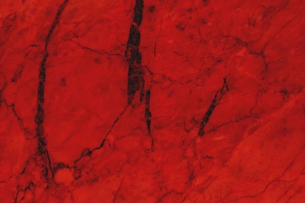 濃い赤の大理石のテクスチャの背景、天然タイルの石の床。