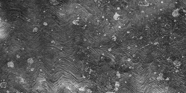 暗い素朴なステンドコンクリートの表面