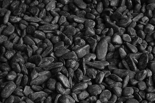 暗い石の川のテクスチャ