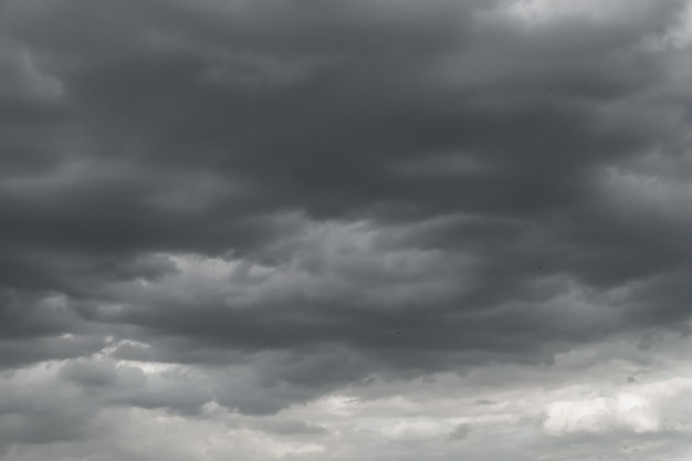 Dark storm clouds before rain used for climate