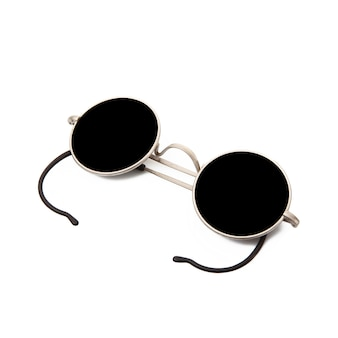 Dark sunglasses isolated