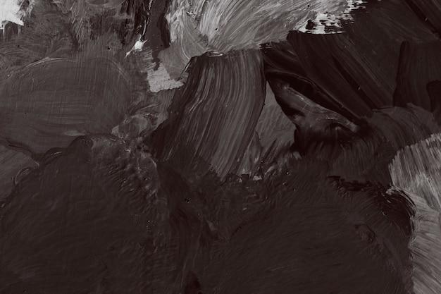 Dark textured oil painting