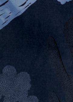 Dark tone neo memphis social background illustration