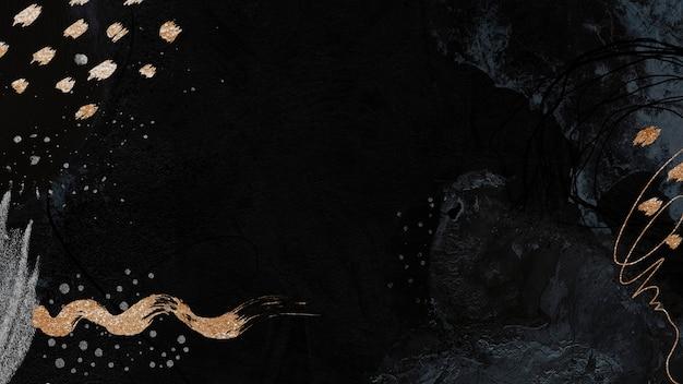 Темный тон нео мемфис социальный фон иллюстрация