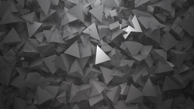 濃い白の幾何学的形状、抽象的な背景。ビジネスや企業のテンプレート、3dイラストのエレガントで豪華なスタイル