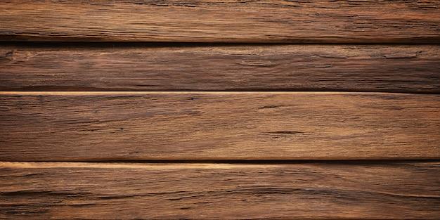 ダークウッドの背景、素朴なボードの自然な質感