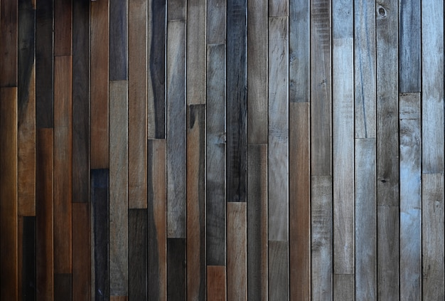 Dark wood board texture background