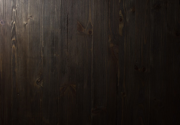 ダークウッドの質感。背景の古いパネル