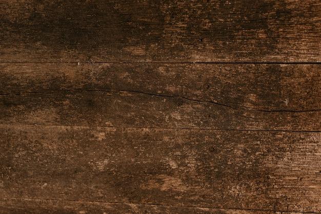 暗い木材のテクスチャ背景。上からの眺め