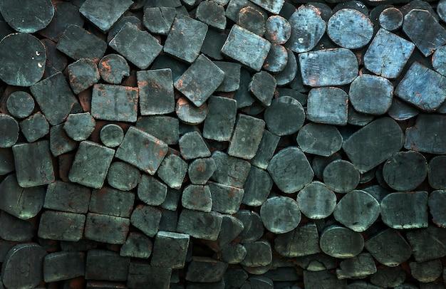 Темный фон текстуры древесины