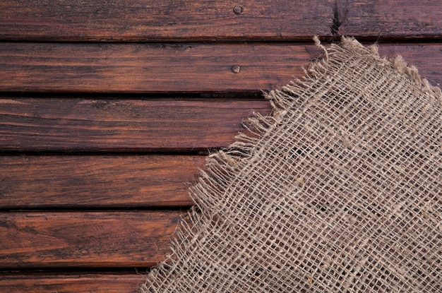 Dark wood texture and fabric. textiles and wood. textile texture.