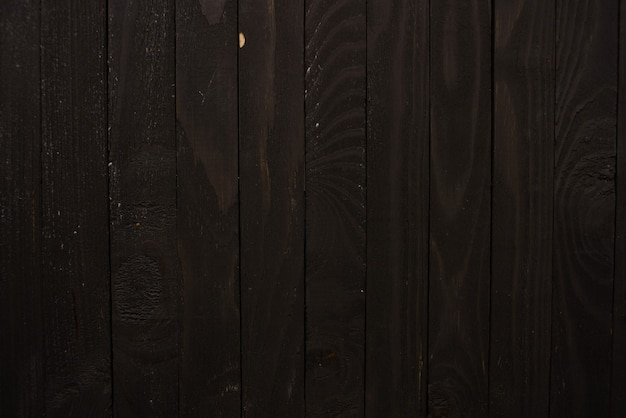 어두운 나무 배경 테이블 질감 개체 평면도