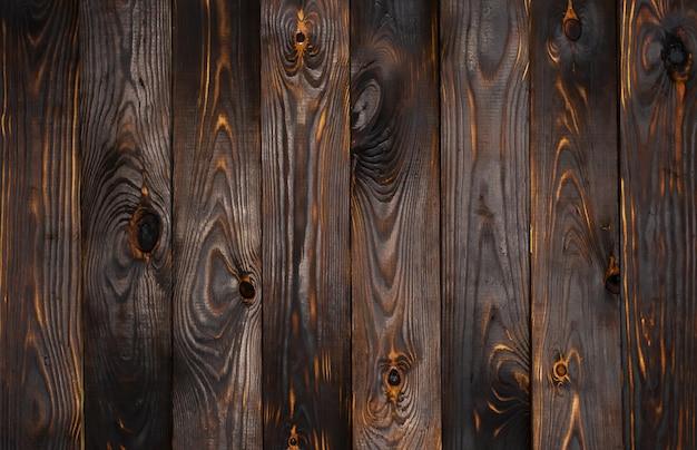 Dark wooden surface