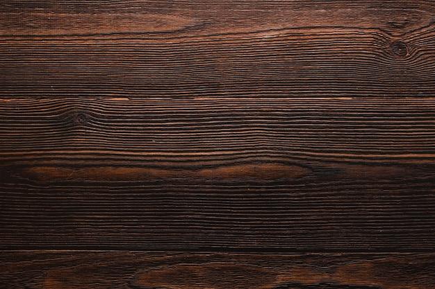 Темный деревянный фон текстуры. теплая атмосфера. творческое пространство и copyspace. красивая основа для ровной укладки.