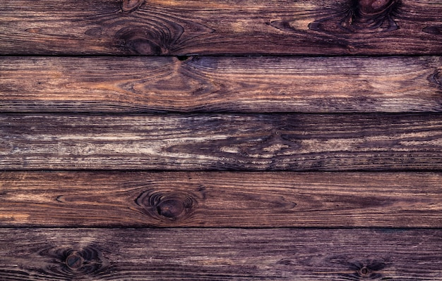Dark wooden texture, old scratched wood
