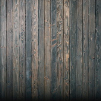 Dark wooden wall background
