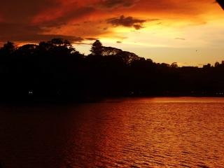 Darknes of the kandy lake, romantic