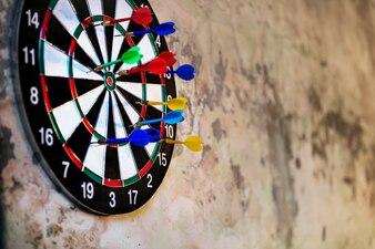 Dartboard Arrows Hit Target Game Activity