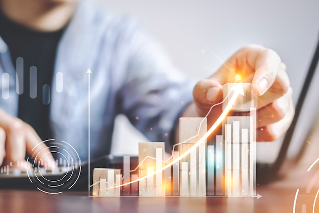 Data analysis of business growth with database structure planning