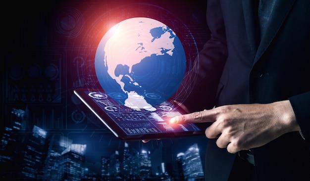 Анализ данных для концепции бизнеса и финансов.