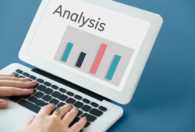 データ分析要約結果グラフチャートワードグラフィック