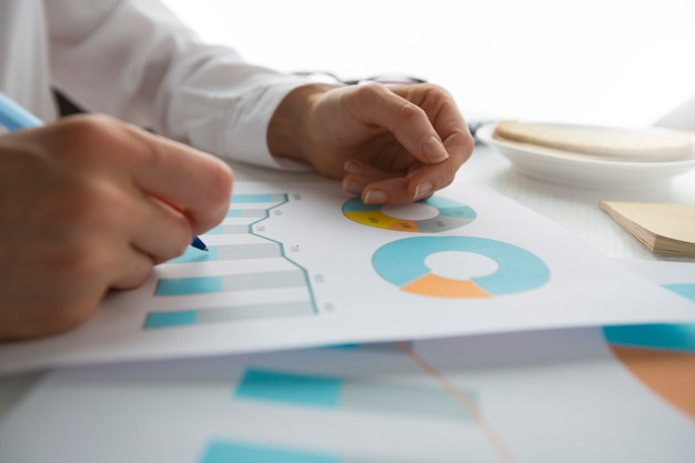 Data document graph chart report marketing research development.