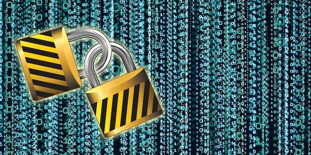 Ключ защиты данных концепции защиты для защиты информации компьютерной системы защита базы данных двоичный ключевой код