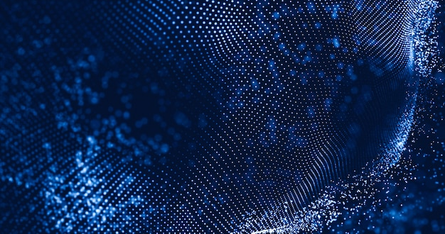 Data technology abstract background