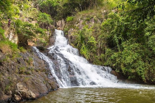 ベトナム、ダラットのdatanla滝