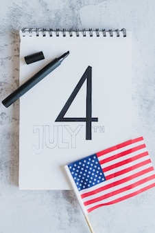 Date of american independence day