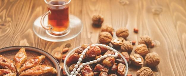 Dates, rosaries and baklava. ramadan.