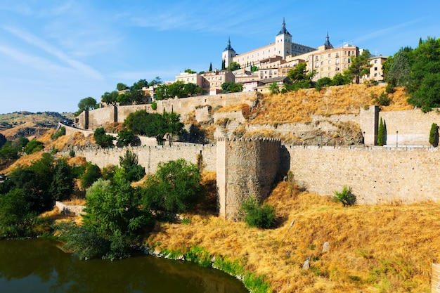 Day view of toledo from river