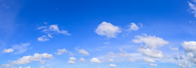 Daytime sky and clouds