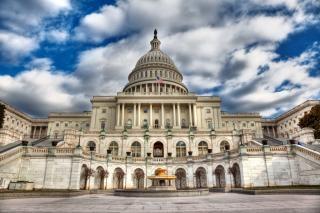 ワシントンdcの国会議事堂hdrパワー