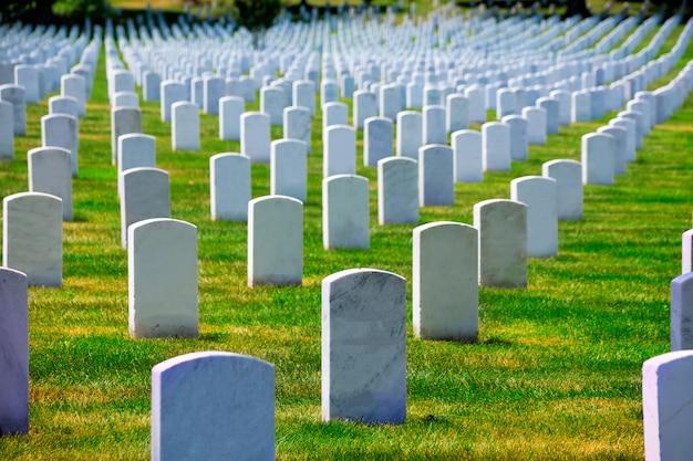ワシントンdc近くのアーリントン国立墓地va