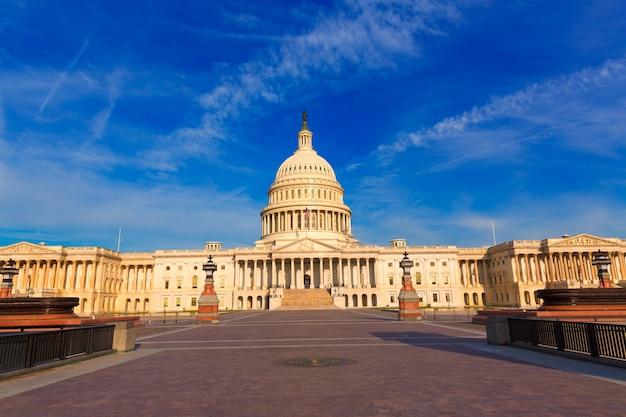 議会議事堂ワシントンdc東ファサード米国