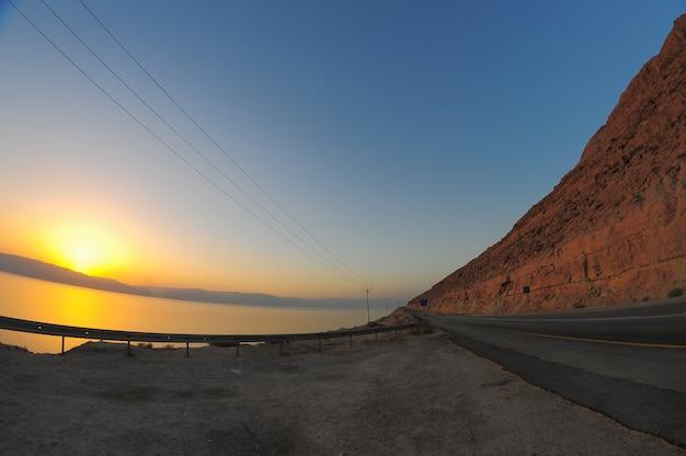Мертвое море израиль восход солнца на берегу